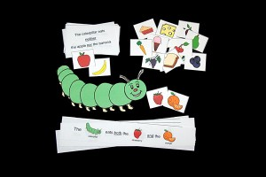 Caterpillar Language Activity for Neither, Either, and Both