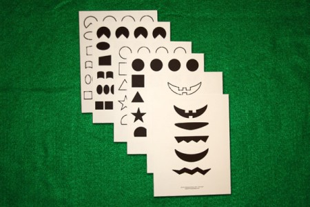 Paper Plate Face Shapes
