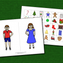 Pronouns And Possessives – Christmas Theme