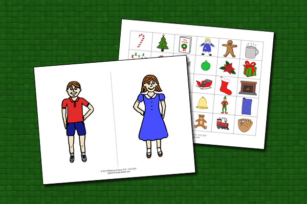 Pronouns and Possessives – Christmas Theme