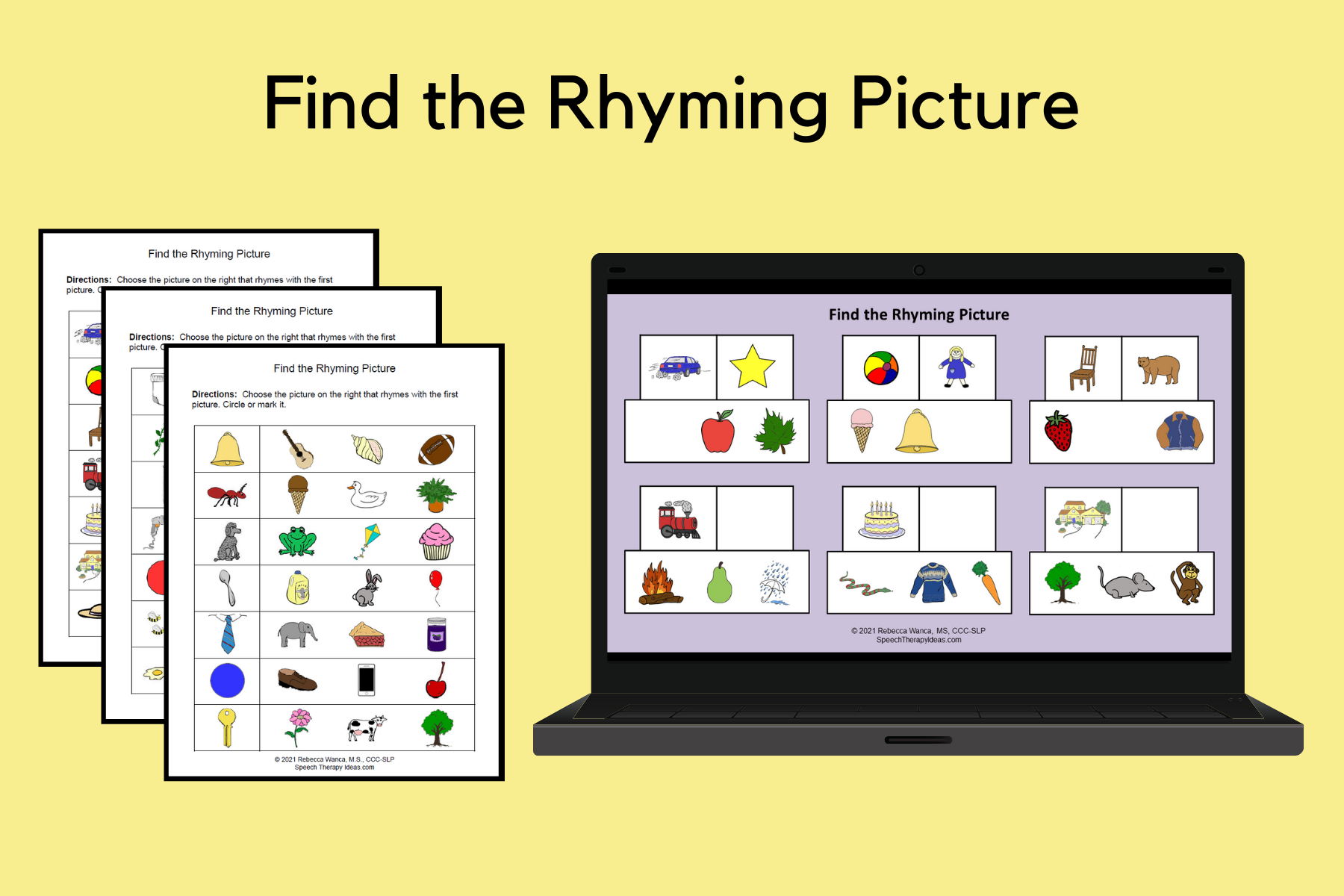 Find the Rhyming Picture