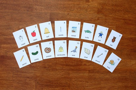 Speech Games - Picture Cards Final L Sound