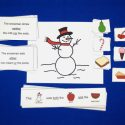 Snowman Language Activity For Neither, Either, And Both