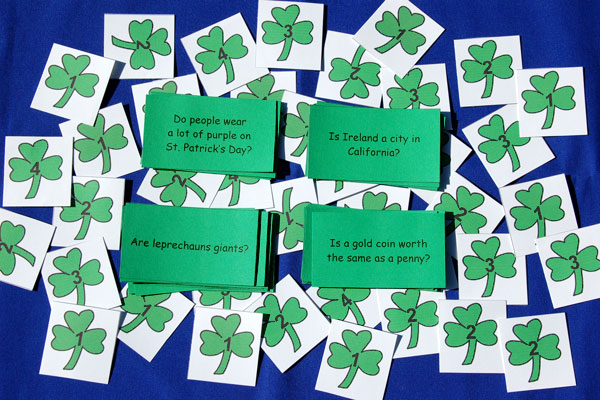 Yes/No Questions For St. Patrick's Day