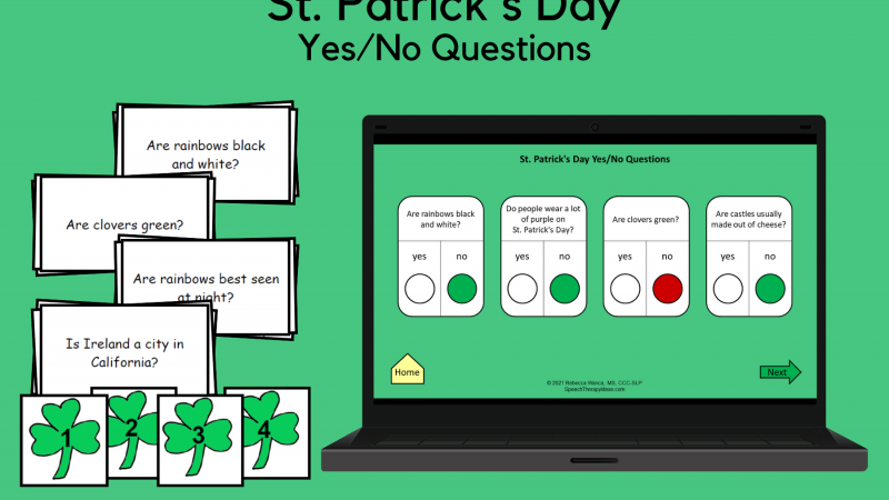 St. Patrick's Day Yes/No Questions
