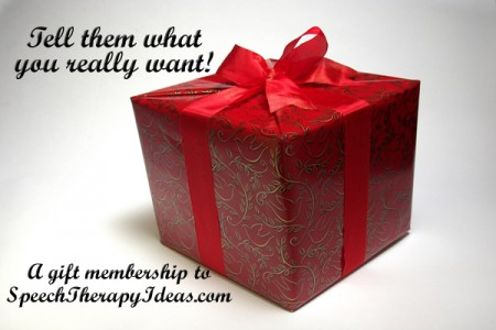 Gift Memeberships for SLPs