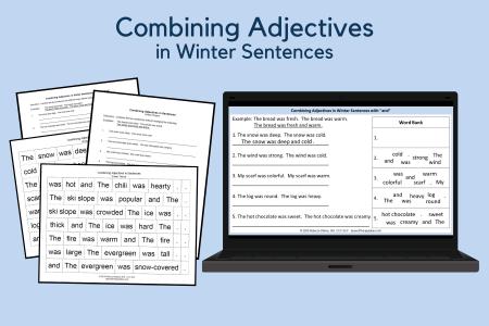 Combining Adjectives - Winter