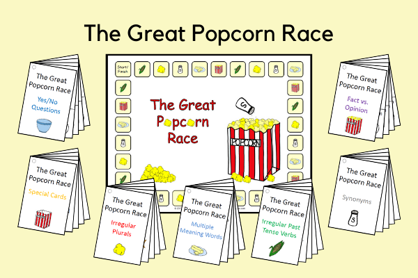 The Great Popcorn Race