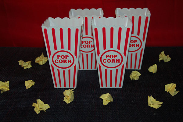 Popcorn Themed Activities