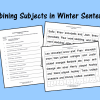 Combining Subjects in Winter Sentences
