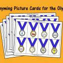Olympics Rhyming Activity