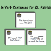 Fill In the Verb Sentences for St. Patrick's Day