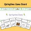 Springtime Game Board