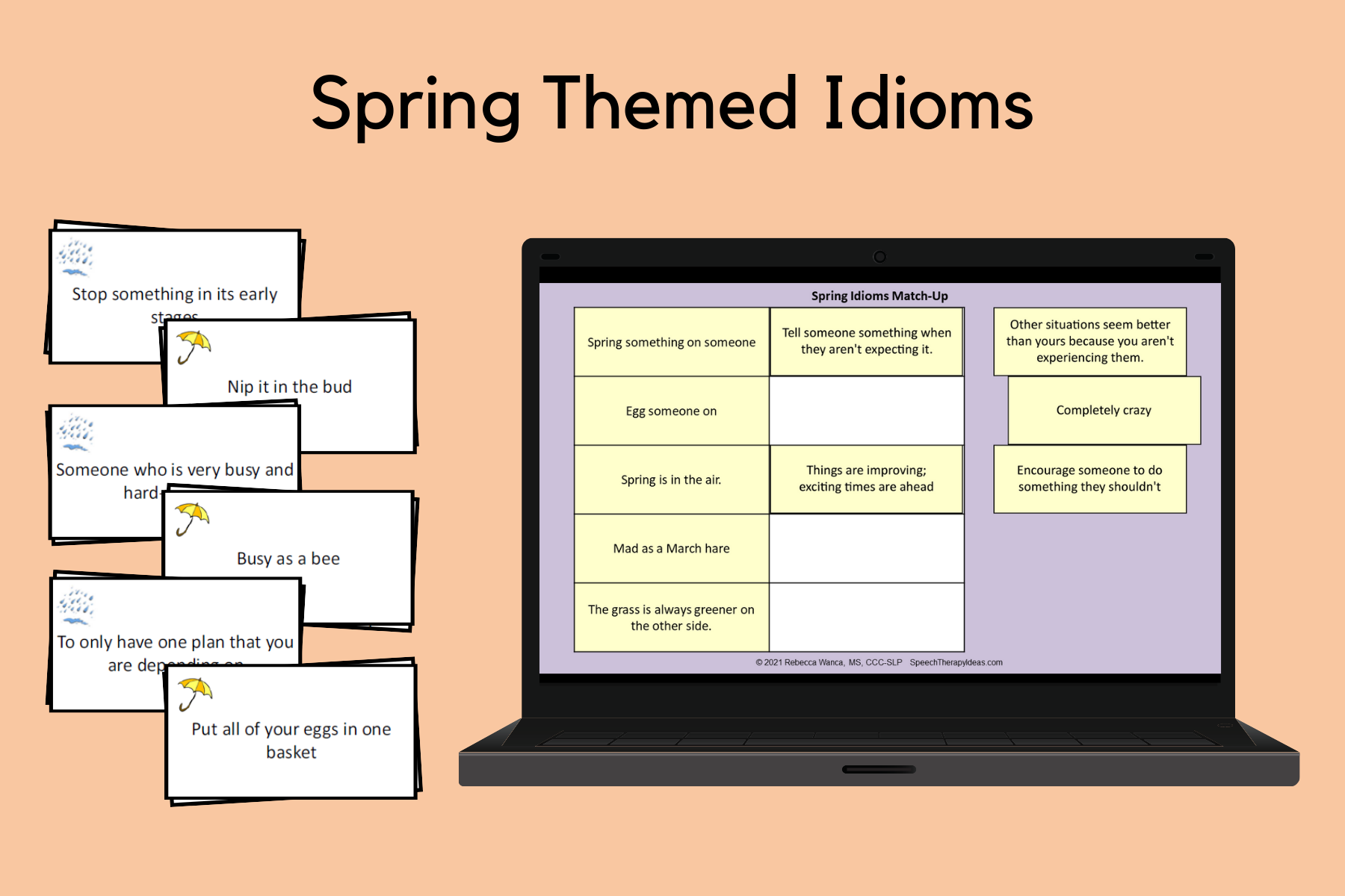 Spring Themed Idioms
