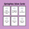 Springtime Figurative Language Cards
