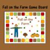 Fall on the Farm Game Board
