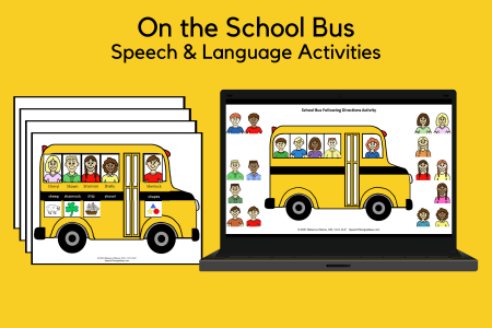 On the School Bus Activities
