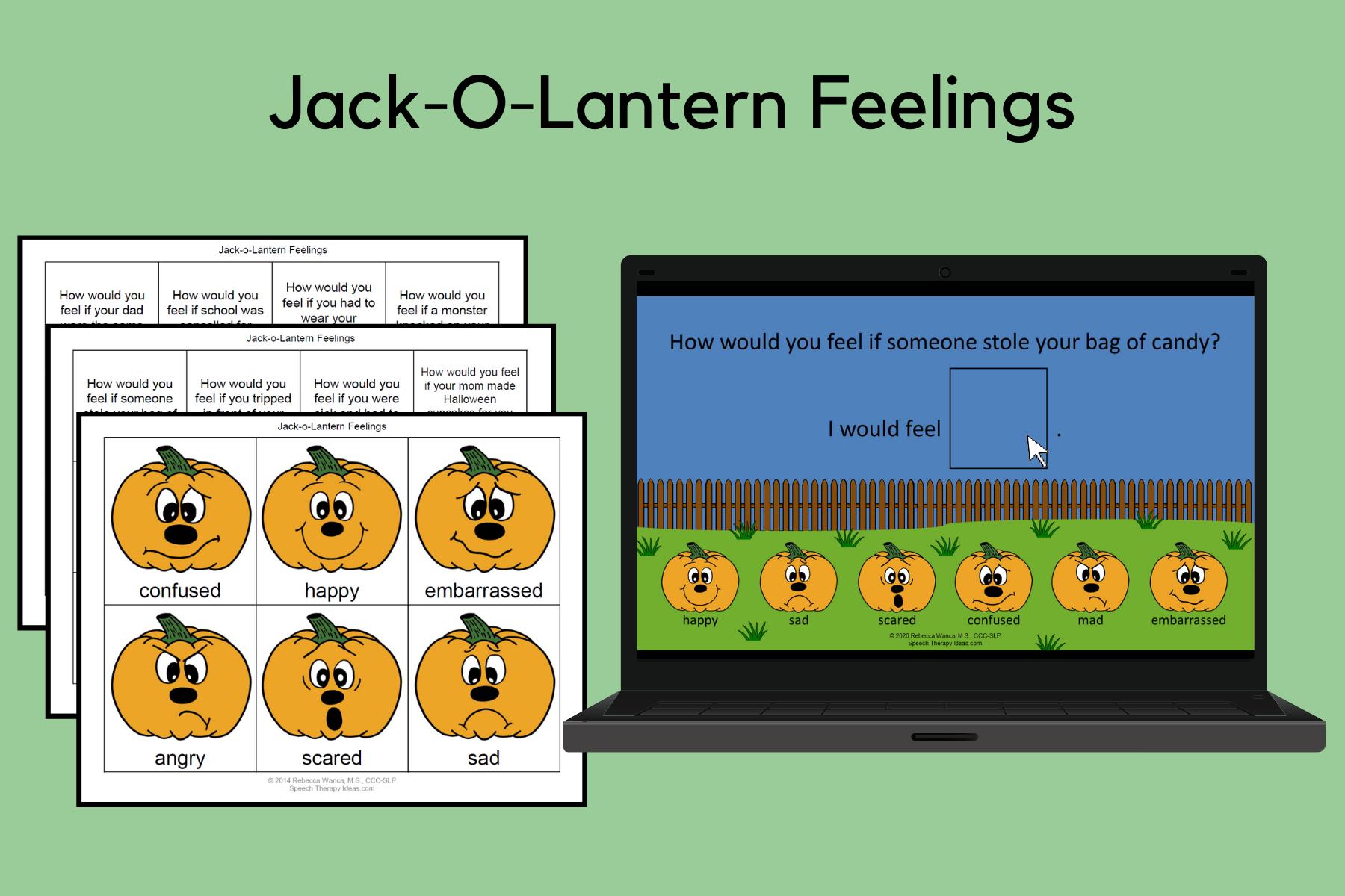 Jack-O-Lantern Feelings