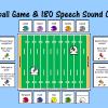 Football Game & 180 Speech Sound Cards