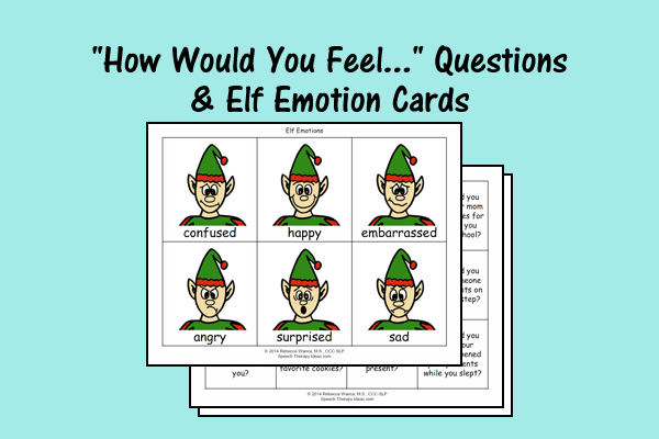 Elf Emotion Cards