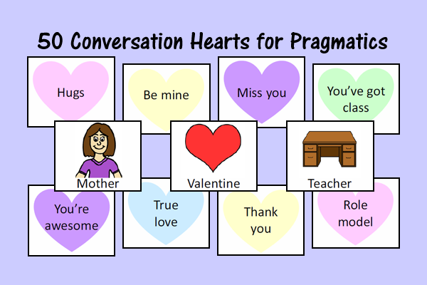 Conversation Hearts For Pragmatics