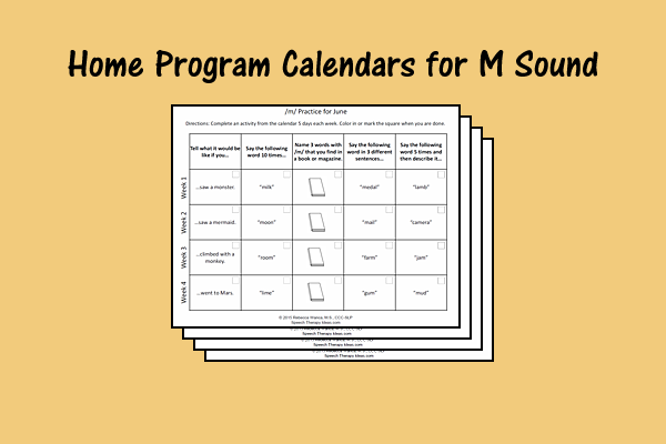 Home Program Calendars For M Sound