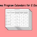 Home Program Calendars For S Sound