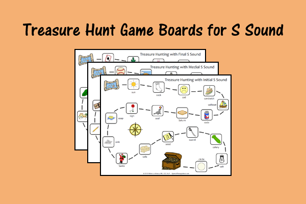 Treasure Hunt Game Boards For S Sound