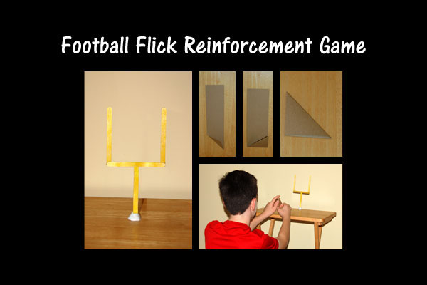 Football Flick Reinforcement Game