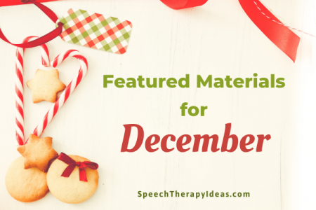 Featured Materials for December