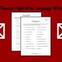 Farm Themed Figurative Language Worksheet