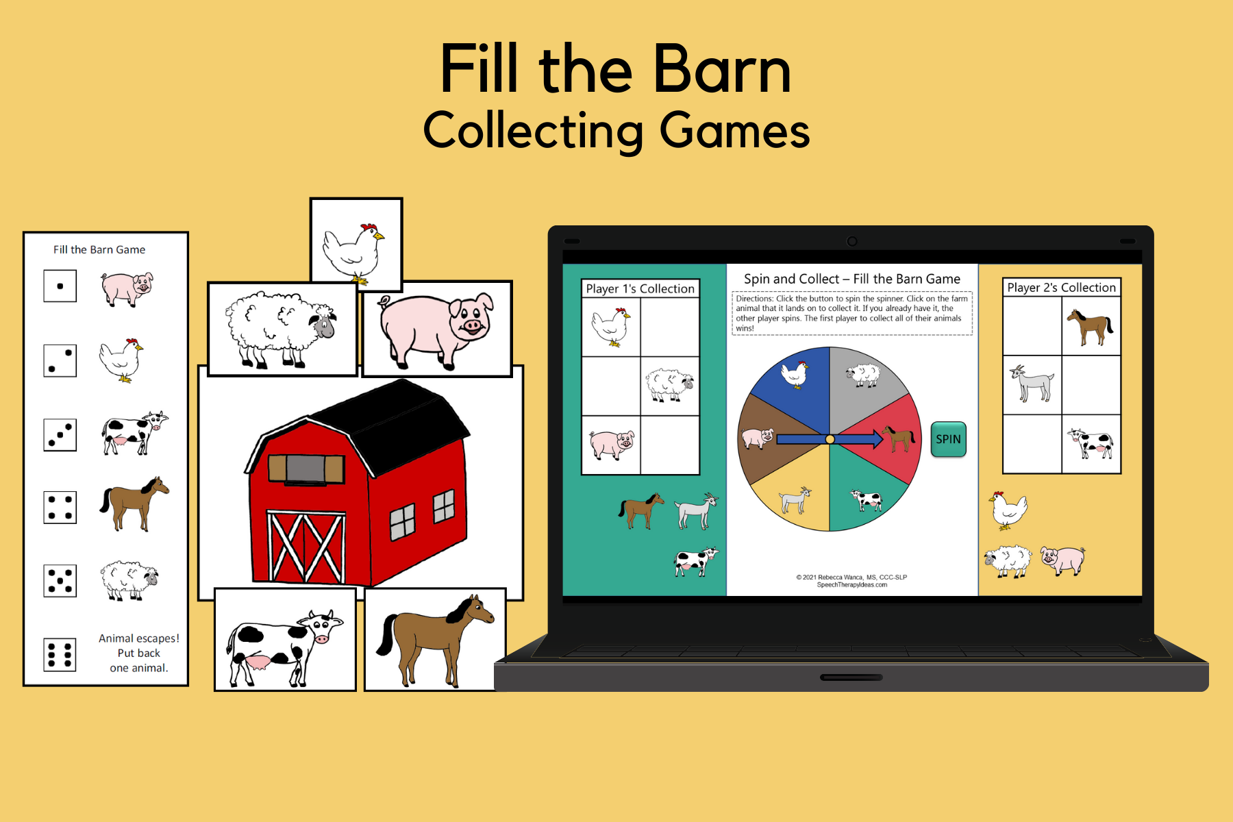Fill the Barn Collecting Games