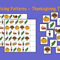 Practicing Patterns – Thanksgiving Theme