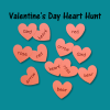 Valentine's Day Heart Hunt