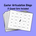 Easter Articulation Bingo