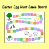 Easter Egg Hunt Game Board