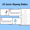20 Easter Rhyming Riddles
