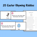 Easter Rhyming Riddles
