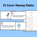 Easter Rhyming Riddles