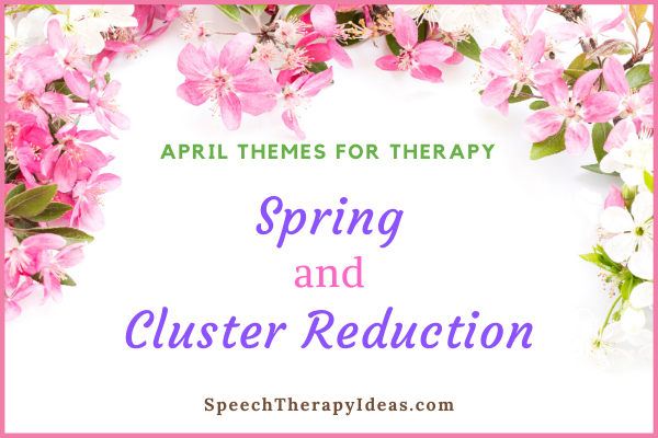 April Themes for Speech and Language Therapy
