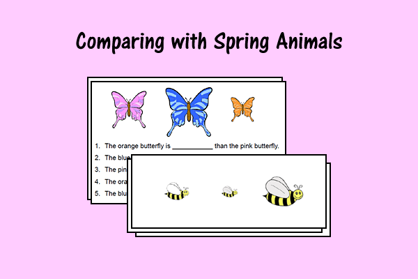Comparing With Spring Animals