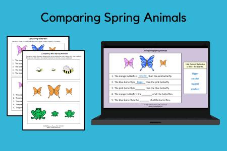 Comparing Spring Animals