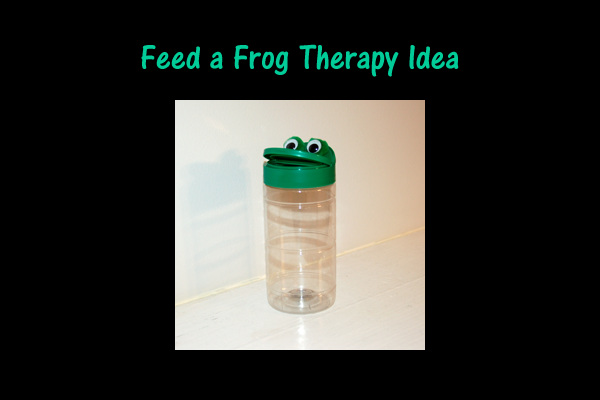 Feed a Frog Therapy Idea