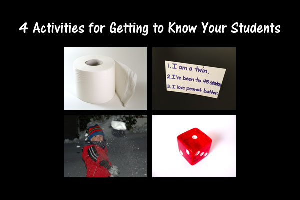 4 Activities for Getting to Know Your Students