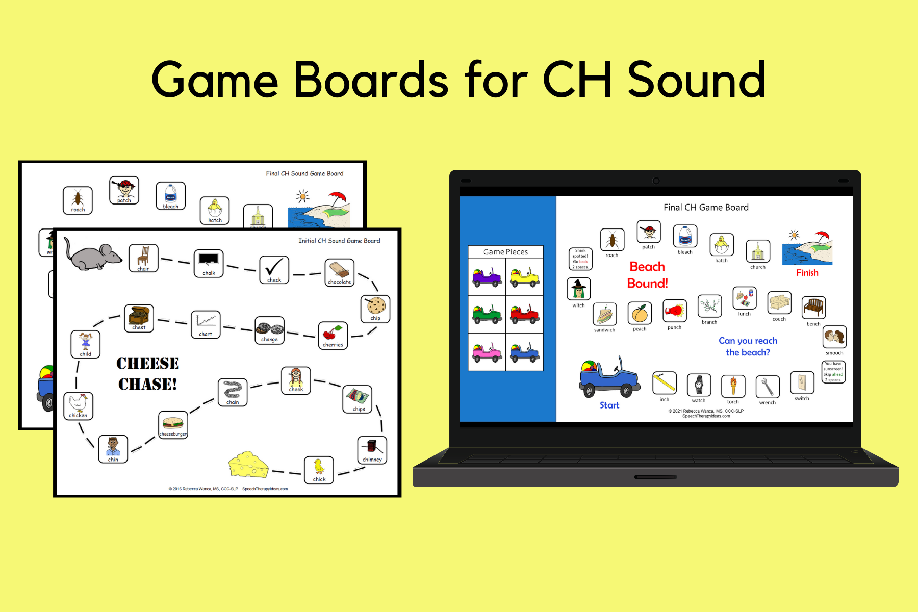 Game Boards for CH Sound