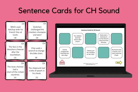 Sound Sentences for CH Sound