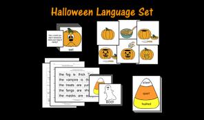 Halloween Language Set