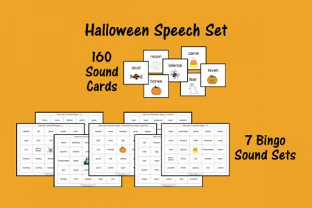 Halloween Speech Set