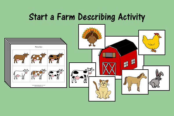 Start A Farm Describing Activity