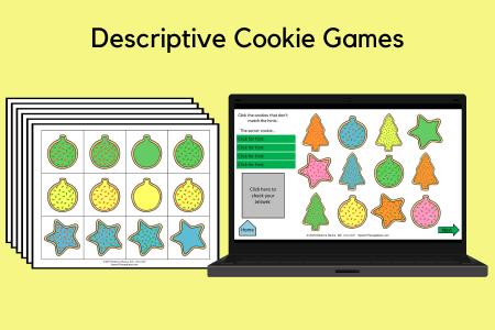 Descriptive Cookie Games